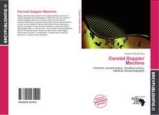 Carotid Doppler Machine kitap kapağı