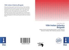 Bookcover of 10th Indian Infantry Brigade