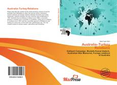 Couverture de Australia–Turkey Relations