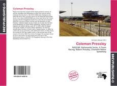 Portada del libro de Coleman Pressley