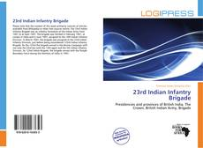 Bookcover of 23rd Indian Infantry Brigade