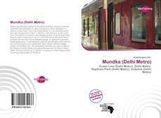 Portada del libro de Mundka (Delhi Metro)