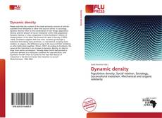 Capa do livro de Dynamic density