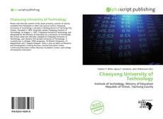Chaoyang University of Technology的封面