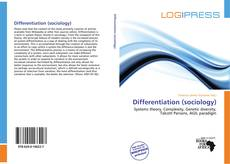 Bookcover of Differentiation (sociology)
