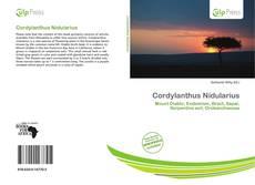 Cordylanthus Nidularius kitap kapağı