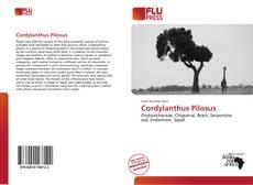 Cordylanthus Pilosus kitap kapağı
