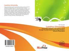 Portada del libro de Lanzhou University