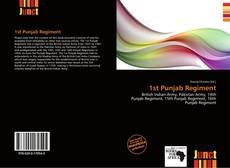 Couverture de 1st Punjab Regiment