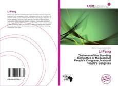Li Peng kitap kapağı
