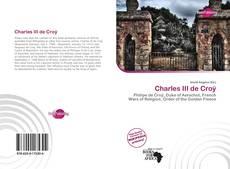 Portada del libro de Charles III de Croÿ