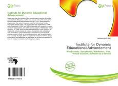 Copertina di Institute for Dynamic Educational Advancement