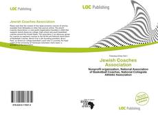 Couverture de Jewish Coaches Association
