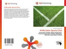 Couverture de Al Mu'aidar Sports Club