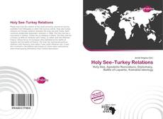 Capa do livro de Holy See–Turkey Relations