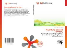 Bookcover of Kwantung Leased Territory