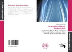 Portada del libro de Australian Music Foundation