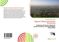 Bookcover of Sigoyer (Alpes-de-Haute-Provence)
