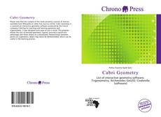 Bookcover of Cabri Geometry