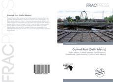 Portada del libro de Govind Puri (Delhi Metro)