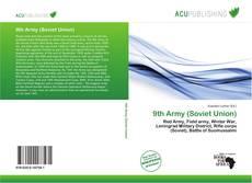 Portada del libro de 9th Army (Soviet Union)