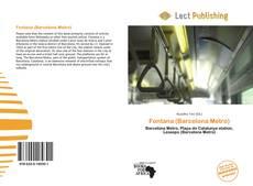 Bookcover of Fontana (Barcelona Metro)
