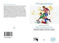 Portada del libro de ACS Fortuna Covaci