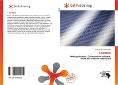 Bookcover of I-sense