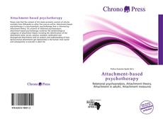Couverture de Attachment-based psychotherapy