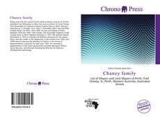 Обложка Chaney family