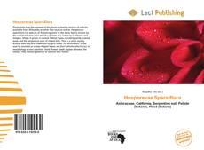 Hesperevax Sparsiflora kitap kapağı