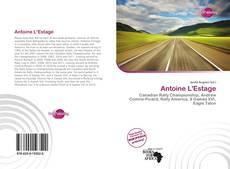 Bookcover of Antoine L'Estage