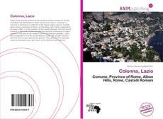 Buchcover von Colonna, Lazio