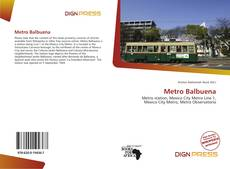 Bookcover of Metro Balbuena