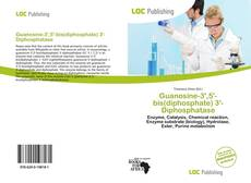 Buchcover von Guanosine-3',5'-bis(diphosphate) 3'-Diphosphatase