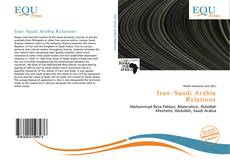Capa do livro de Iran–Saudi Arabia Relations