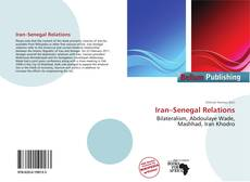 Bookcover of Iran–Senegal Relations