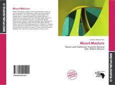 Capa do livro de Mount Maclure