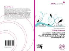 Bookcover of David Steven