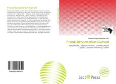 Bookcover of Frank Broadstreet Carvell