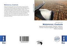 Bookcover of Matamoros, Coahuila