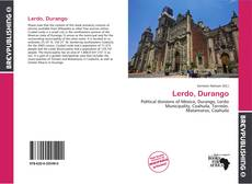 Bookcover of Lerdo, Durango