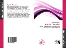 Bookcover of Cyrille Dumaine