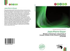 Bookcover of Jean-Pierre Goyer