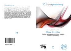 Capa do livro de Marc Carrière