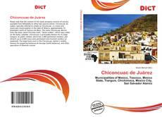Portada del libro de Chiconcuac de Juárez