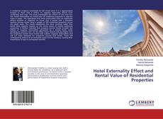 Bookcover of Hotel Externality Effect and Rental Value of Residential Properties