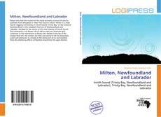 Capa do livro de Milton, Newfoundland and Labrador