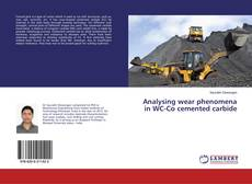Bookcover of Analysing wear phenomena in WC-Co cemented carbide