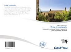 Copertina di Erba, Lombardy
